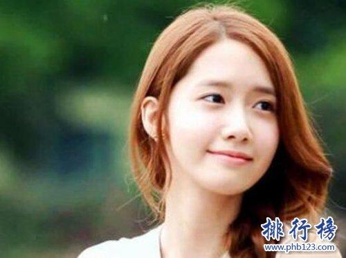 2021年韓國十大最美女明星,林允兒第三,全智賢第一!