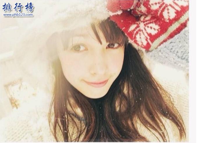 日本十大最美模特:日本混血小仙女太驚艷看完舔屏!
