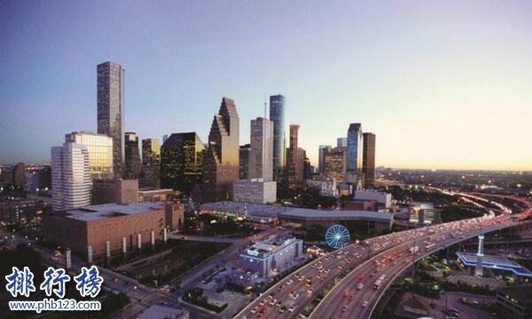 美國十大城市人口排名 紐約人口是洛杉磯的兩倍