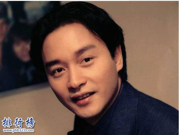 香港公認十大巨星:張國榮香港傳奇巨星15年了從未遺忘