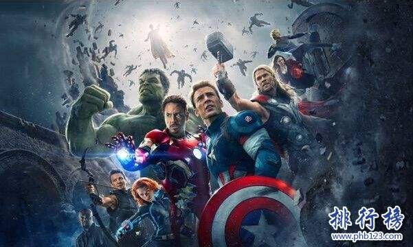 美國票房最高的十部電影 第一名票房相當於三部戰狼2