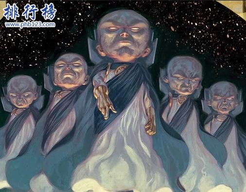 漫威十三大外星種族:第一不為人知,輕鬆秒殺天神租