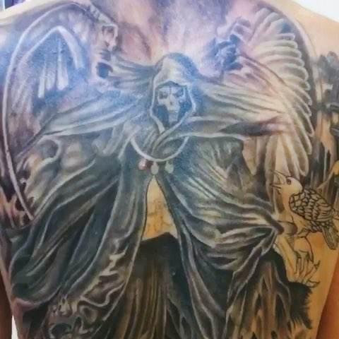 死神夜叉紋身圖片