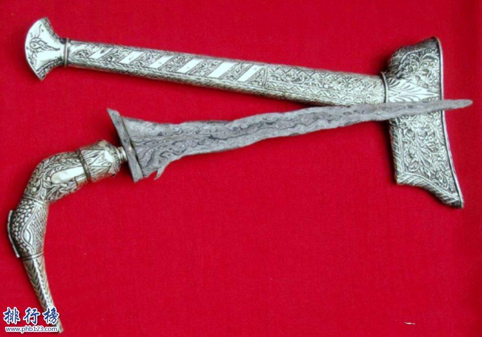 世界三大名刃圖片介紹:為什麼世界三大名刀沒有中國刀?