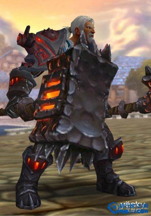 魔獸世界幻化武器 黑暗之手