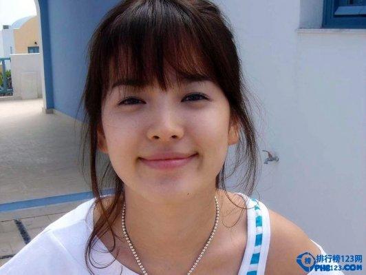 韓國童顏女星排行榜