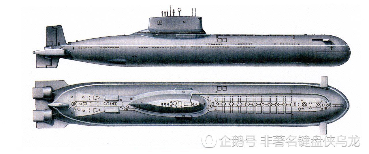 颱風級核潛艇圖片