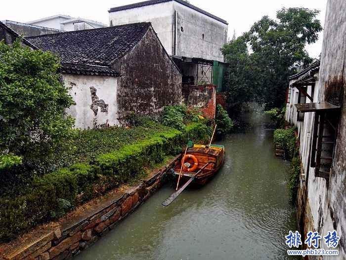 江蘇十大古鎮排名,江蘇最美的古鎮盤點