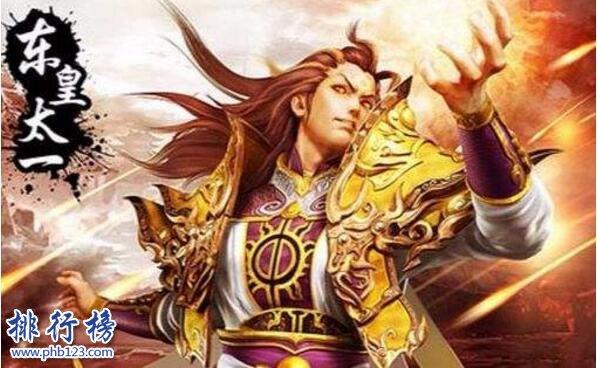 力量最強的上古神器:東皇鍾(是天界之門可吞天滅地)
