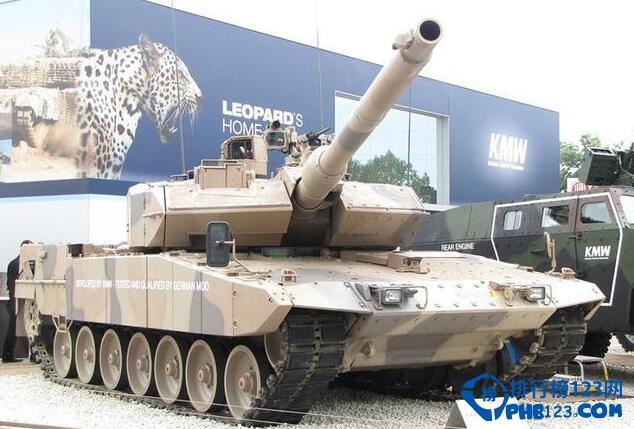盤點世界十大主戰坦克排行