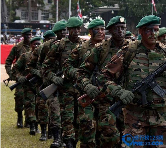 2019南美洲軍事實力前十名 南美十大軍事強國
