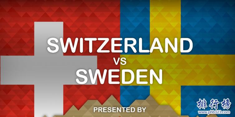 瑞典vs瑞士歷史戰績,瑞典vs瑞士比分記錄一覽表