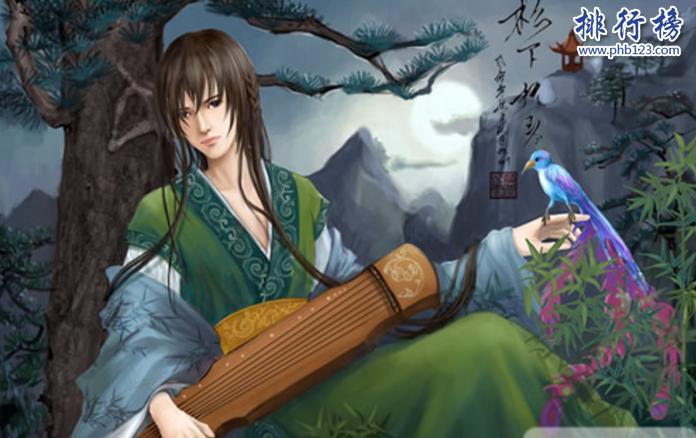 中國古代四大美男子:潘安被夷三族,第四被男人雙飛