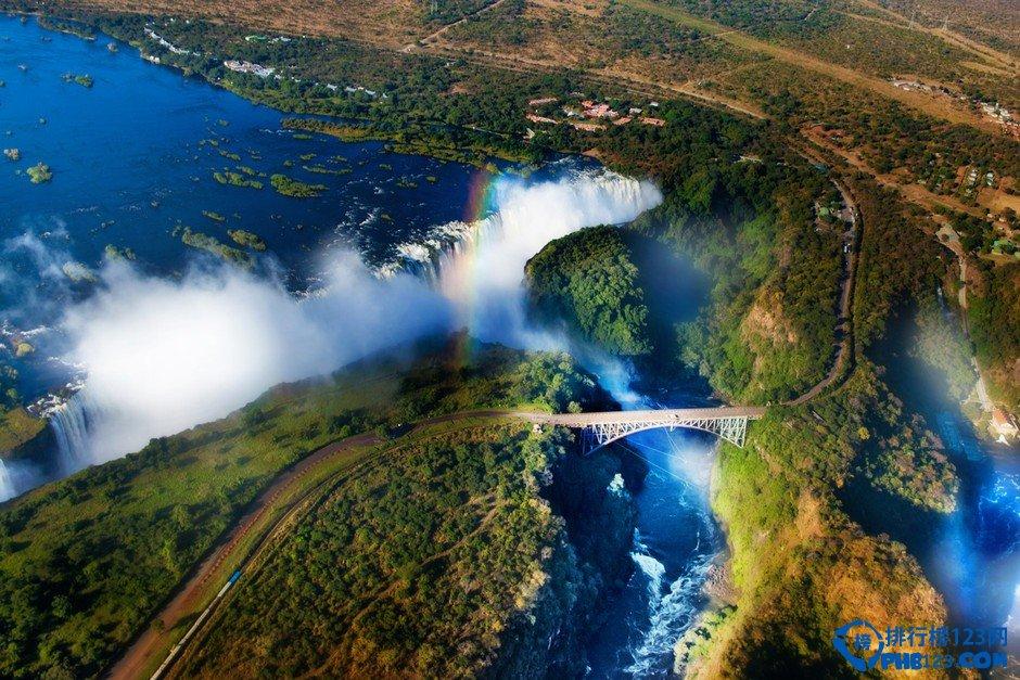 非洲最大的瀑布 世界上最大、最美麗和最壯觀的瀑布之一