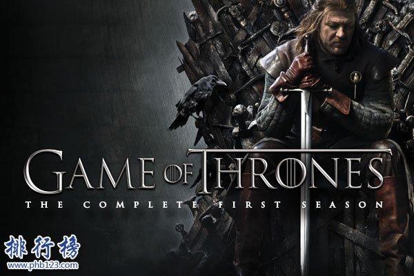 全球成本最高的電視劇top10:權利的遊戲僅第4,第1名1000萬一集