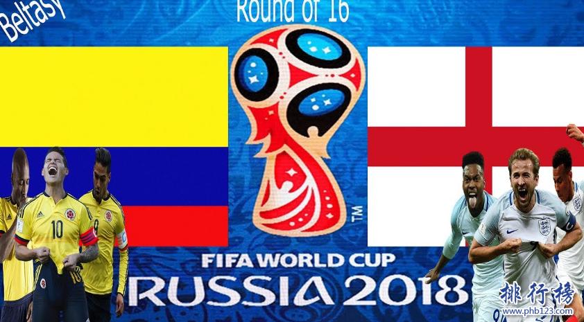 哥倫比亞VS英格蘭歷史戰績,哥倫比亞VS英格蘭比分記錄一覽表