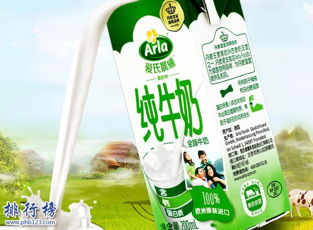 進口牛奶哪個牌子好?德國進口牛奶排行榜