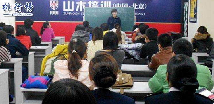 導語:語言是人和人之間溝通的橋樑,這幾年中國和世界各國關係友好旅遊業盛行,為了不和世界脫軌我們要不學習一些語言來提升自己這樣我們去日本旅遊或者留學就不會尷尬啦!那么你知道北京有哪些比較好的日語培訓機構嗎?今天TOP10排行榜網小編為大家盤點了北京日語培訓機構排名資料,一起來了解一下吧!  北京日語培訓機構排名  1.北京櫻花國際日語  2.北京山木培訓  3.北京凱特語言中心  4.北京新東方  5.新世界日語  6.北京燕園日語培訓學校  7.北京外國語大學培訓  8.北京旭博外語培訓學校  9.北京新動力學校  10.北京千之葉日語學校  十、北京千之葉日語學校  官網:https://www.qianzhiye.com  北京千之葉日語培訓是北京知名的日語培訓機構學校擁很多日籍外教培訓了大量的日語人才成為北京最專業的一個日語培訓機構,學校擁有100多名優秀的老師採用15個人一個班的母語模板學習法針對每一位學員想要達到的效果定製合適的學習方案。  九、北京新動力學校  官網:https://www.tongye.cn  北京新動力學校成立於2001年是一家專業從事語言培訓、留學服務的專業培訓機構,在這裡不僅可以學習日語、德語、韓語等多個多家的語言,在北京日語培訓機構排名第九,曾獲得全國十大潛力外語培訓機構榮譽稱號。  八、北京旭博外語培訓學校  官網:https://biz905380913778.cn.zhsho.com  旭博教育成立於2003年是國內教學規模最大的綜合性教育學校,主要業務包括、自學考試、外語培訓、出國諮詢等多個服務領域,另外旗下還設有燕園日語教育、少兒日語等培訓機構學校採用統一的基礎教材、師資力量為每一位學員提供高平的教學服務。  七、北京外國語大學培訓  官網:https://www.bwpx.com  北京外國語大學成立於2013年是由教育部授權的自費留學培訓基地,學校開設看德語、英語、法語、日語等幾十個國家的語種培訓項目根據每位學員的要求制定合適的學習方法以及不同形式的課程幫助每位學員充分發揮語言的魅力和內涵。  六、北京燕園日語培訓學校  網址:https://www.114px.com/xuexiao/11823/course/  北京燕園日語培訓機構是全國知名的日語培訓品牌,成立10幾年來整合了北京大學老師以及優秀日語老師為每一位學生提供一流的高效率教育培訓服務,受到很多學生的好評和讚譽。  五、新世界日語  官網:https://www.xsjedu.org/  北京新世界教育是成立於1997年是一家大型的外國語教育培訓機構,在上海、青島、杭州等18個城市開設了98個教育培訓中心,成為國內知名的培訓學校,學校開設有日語、英語、韓語等外語學科。  四、北京新東方  官網:https://bj.xdf.cn/  北京新東方成立於1993年總部位於北京海淀區是一家規模龐大的綜合性教育機構,主要業務包括外語培訓、出國諮詢、圖書出版等多個領域的服務,新東方旗下還有中學教育、滿天星親子教育等多個品牌教育機構在北京日語培訓機構中知名度最高,幾乎無人不知。  三、北京凱特語言中心  官網:https://www.qinxue365.com  北京凱特培訓中心成立於2012年是一個專業的外語培訓機構目前在北京已經有3家培訓中心,另外還有一家考試中心,幫助上萬個學子能非常流利的說日語。學校設有日語、韓語、英語等熱門學科受到無數學子的關注和青睞。  二、北京山木培訓  官網:https://www.smpx.com.cn  北京山木培訓成立於2004年發展至今已經有14家分校,學校的規模和教學質量得到了無數學子的肯定和讚譽,曾獲得北京教育最具影響力品牌獎,在北京日語培訓機構排名第二,學校設立的課程班級有粵語班、日語班、韓語、電子商務等多個教育課程。  一、北京櫻花國際日語  官網:https://www.sakurajp.com.cn  櫻花日語是國內一家特色高端日語培訓機構,這裡有豐富經驗的日語教授以及深厚日語功底的教師為每一位學員制定合適的學習方案和課程,由專業老師帶隊去日本邊遊覽邊學習日語體驗日本文化參觀知名的日本大學為學生的語言能力做好鋪墊。  結語:以上就是排行榜 23網小編為大家盤點的北京日語培訓機構排名資料,這些日語學校的口碑最好,影響力最大受到無數學員的好評和點讚。