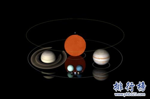 世界上最小的恆星,EBLM J0555-57Ab(質量僅夠承受核聚變過程)