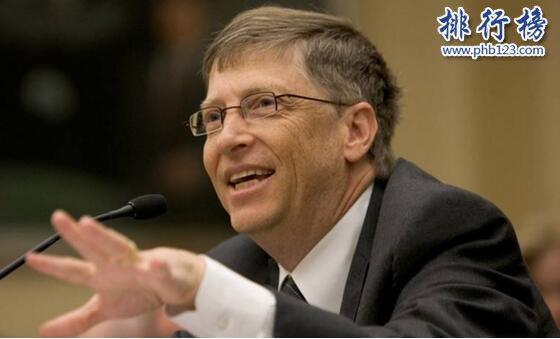 世界上身價最高的人:比爾蓋茨身價919億美元,領先第二名135億美元