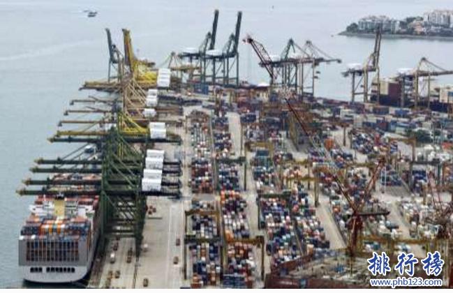 世界十大港口2019:港口排名中國占7個,穩居全球第一
