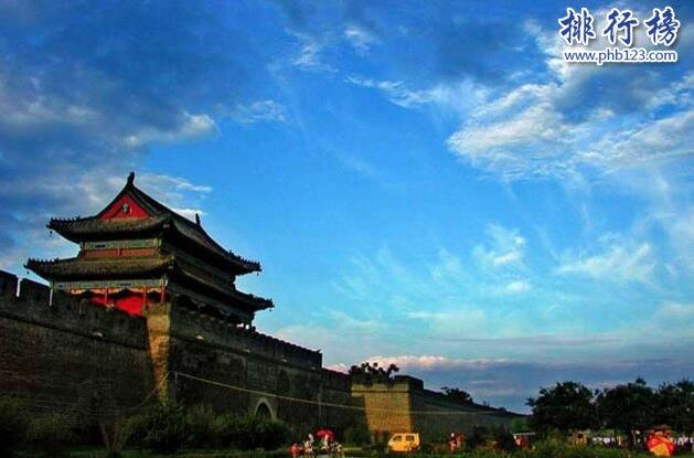 中國十大古城排名,中國保存得最完整的十大古城