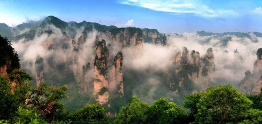 中國最美旅遊勝地排行榜