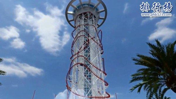 世界上最高的過山車:美國Skyscraper過山車,高174米時速超100公里