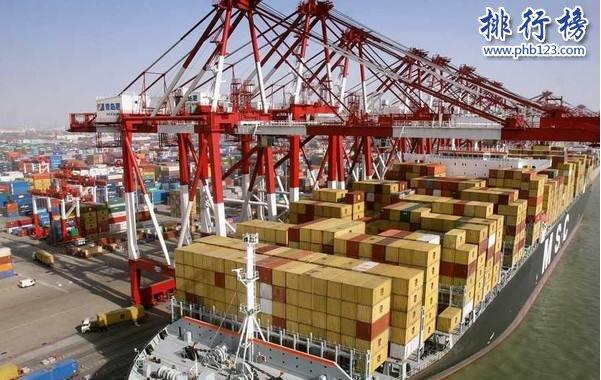 2021年第一度全球港口貨櫃吞吐量排行榜:前十中國站6席