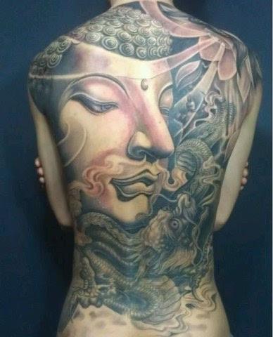 佛祖菩薩紋身圖片