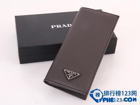 普拉達男士錢包