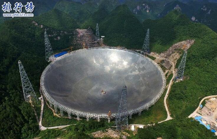 """世界上最大的射電望遠鏡:中國天眼""""FAST"""""""