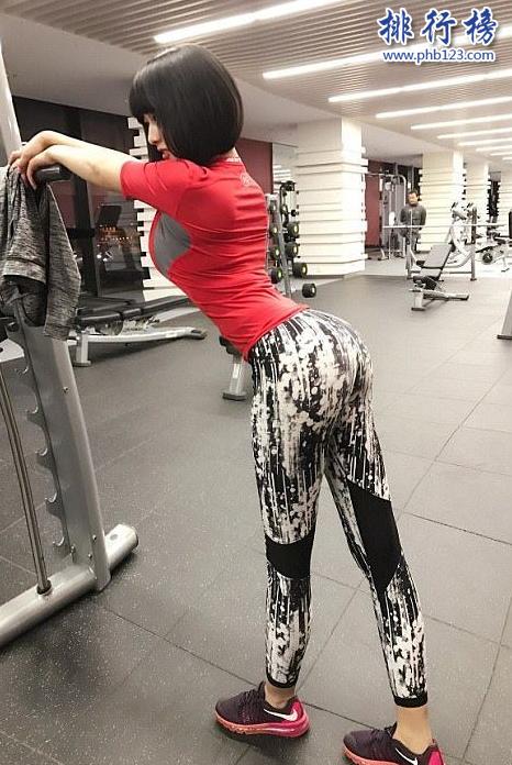 中國臀部最美的女人:19歲少女高倩 正面照曝光