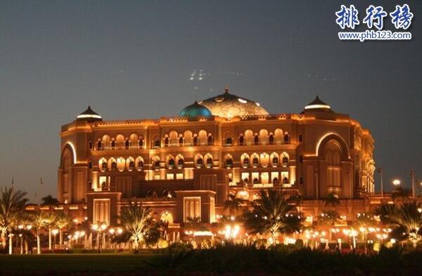 世界上最豪華的酒店排名:杜拜水下酒店,唯一十星級酒店