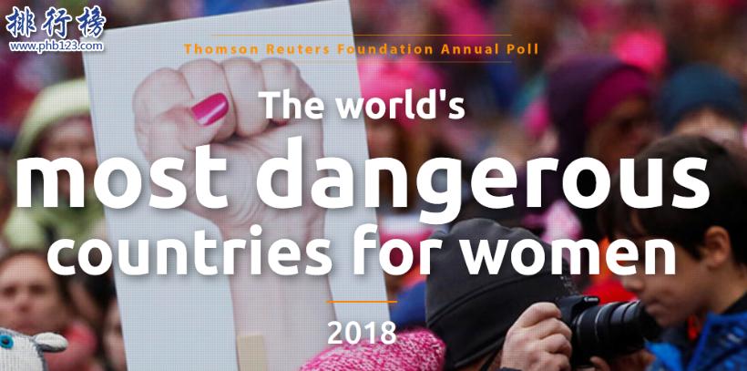全球十大女性最不安全國家:美國上榜,印度第一(強姦大國)