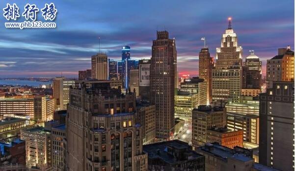 美國治安最差城市排名 底特律每天都有謀殺案發生