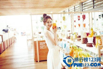 2014韓國國民女神排行榜