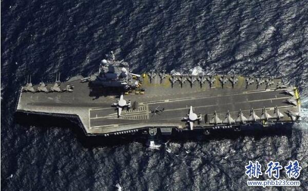 世界上最昂貴的十大戰艦 中國遼寧號造價難以估計(耗時14年終服役)