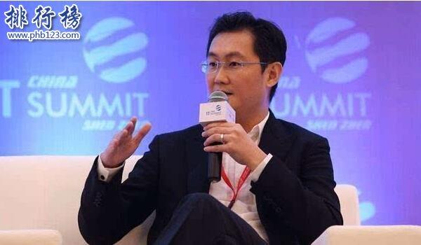 2019中國首富排行榜:馬化騰身價2910億元穩居榜首(實時更新)
