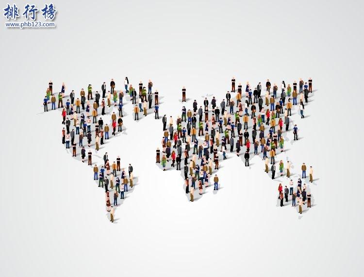 【世界人口排名2019】最新世界總人口數量2019年(230個國家)