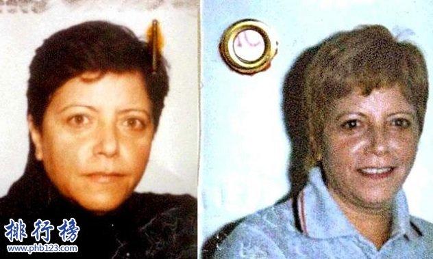 全球最危險十大女罪犯,世界第一女毒梟勞迪亞上榜