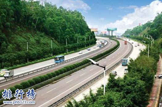 中國十大最長高速公路:大廣高速僅第四,第一超4000公里
