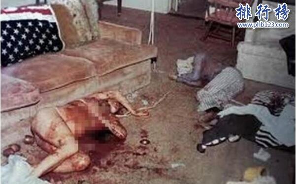 莎朗·塔特為什麼被殺?莎朗·塔特被開膛了嗎?(兇殺現場圖片)