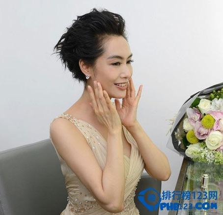 中國胸部最美的十大女明星排行榜 陳喬恩排榜首