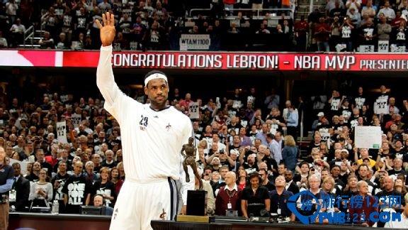 ESPN大預測NBA新賽季MVP排行榜:詹姆斯榜首
