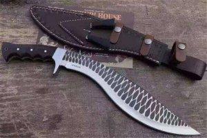 世界十大最好看的刀 藏刀精美無比,第二把刀的鍛造工藝失傳