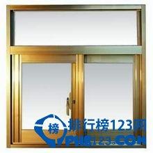 鋁合金門窗品牌排行