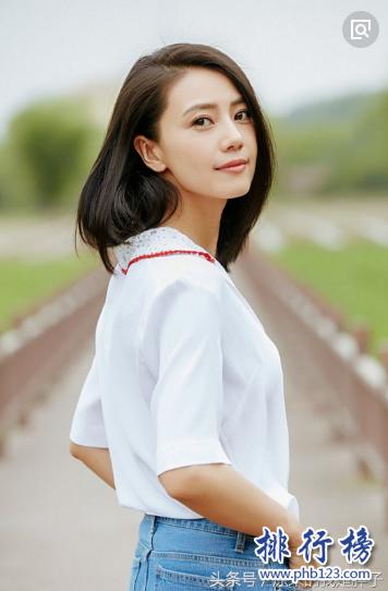中國女明星顏值排行榜2021