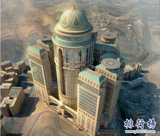 世界上最大的酒店:麥加AbrajKudai酒店面積140萬㎡,1萬間客房