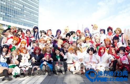 2014日本動漫cosplay人物排行榜